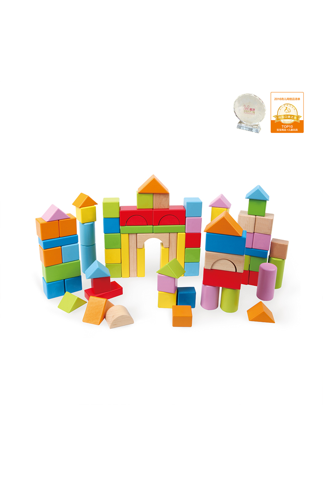 Hape  Count and Spell Blocks - Main Image