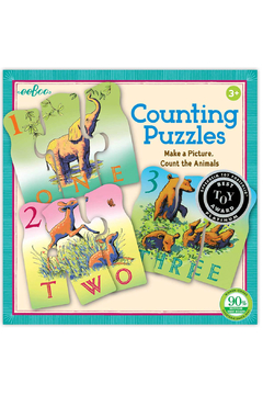 Eeboo Counting Puzzles - Alternate List Image