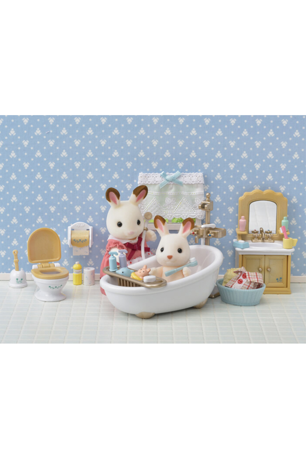 Calico Critters Country Bathroom Set - Main Image