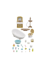 Calico Critters Country Bathroom Set - Front full body
