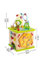 Hape  Country Critters Play Cube - Back cropped
