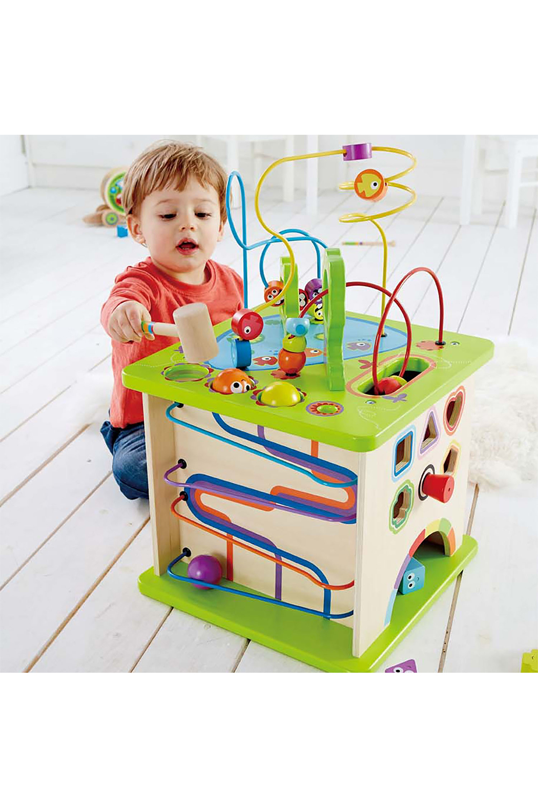 Hape  Country Critters Play Cube - Front Full Image