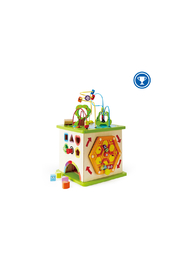 Hape  Country Critters Play Cube - Front cropped