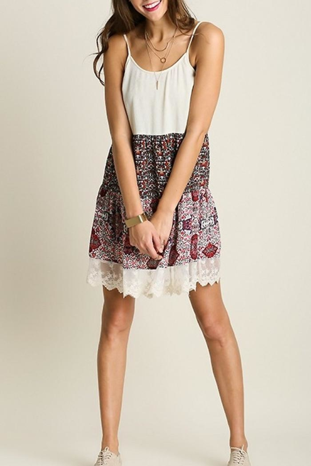 People Outfitter Country Print Dresses - Side Cropped Image