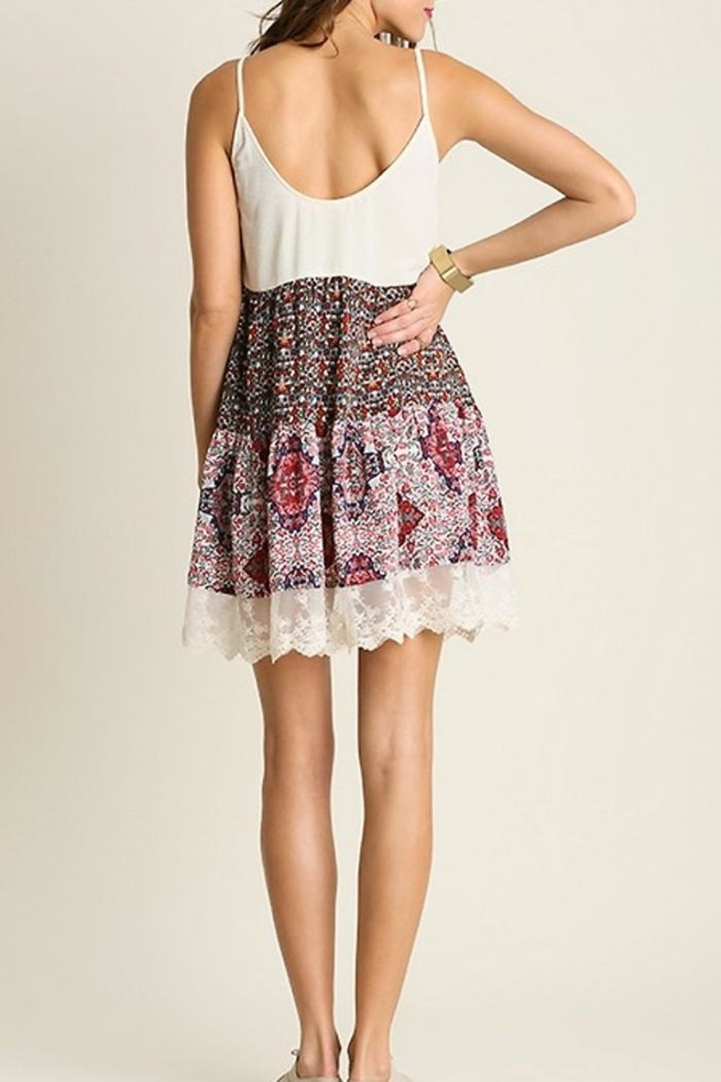 People Outfitter Country Print Dresses - Front Full Image