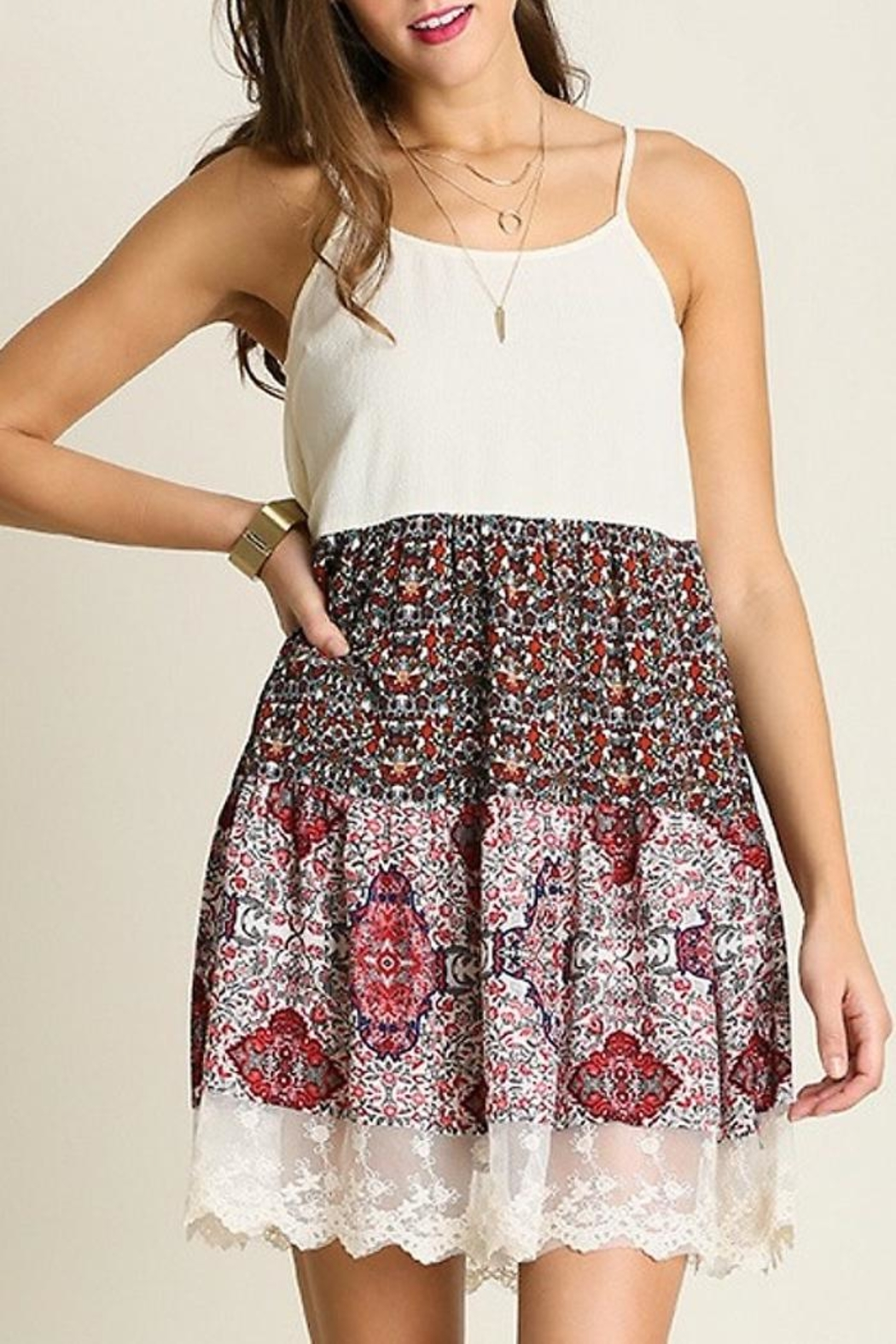 People Outfitter Country Print Dresses - Main Image