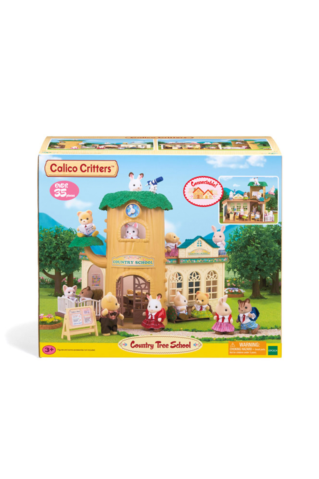 Calico Critters Country Tree School - Front Full Image