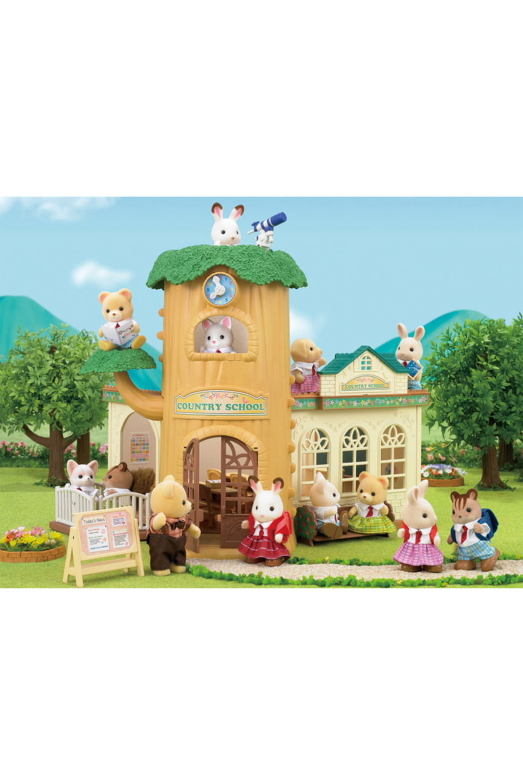 Calico Critters Country Tree School - Side Cropped Image