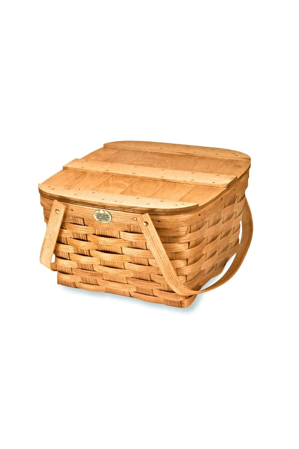 Peterboro Basket Company Country Two-Pie Basket - Main Image