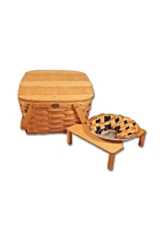 Peterboro Basket Company Country Two-Pie Basket - Front full body