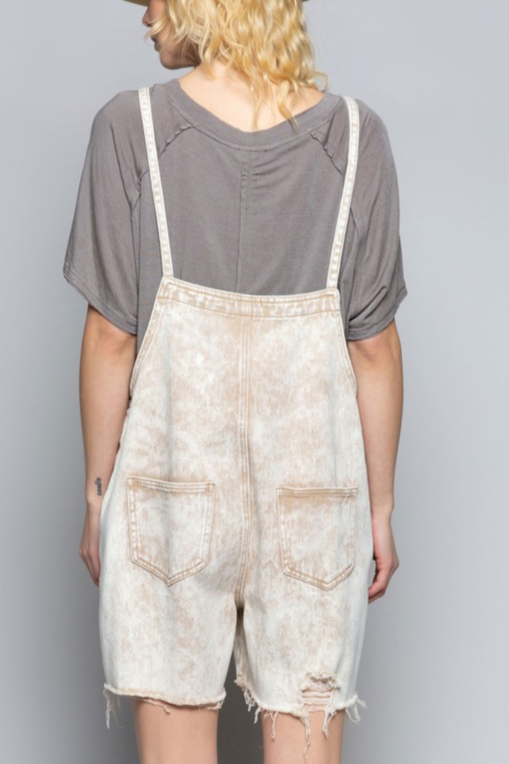 POL Country Vibe Overalls - Side Cropped Image