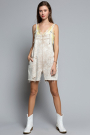 POL Country Vibe Overalls - Back cropped