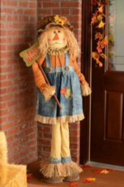 Hanna's CountryLeaf Standing Scarecrow - Product Mini Image