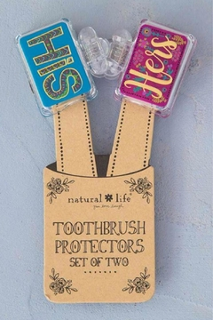 Natural Life Couple Toothbrush Cover - Alternate List Image