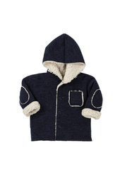 EMC Coupled Knitted Faux Lammy Jacket - Product Mini Image