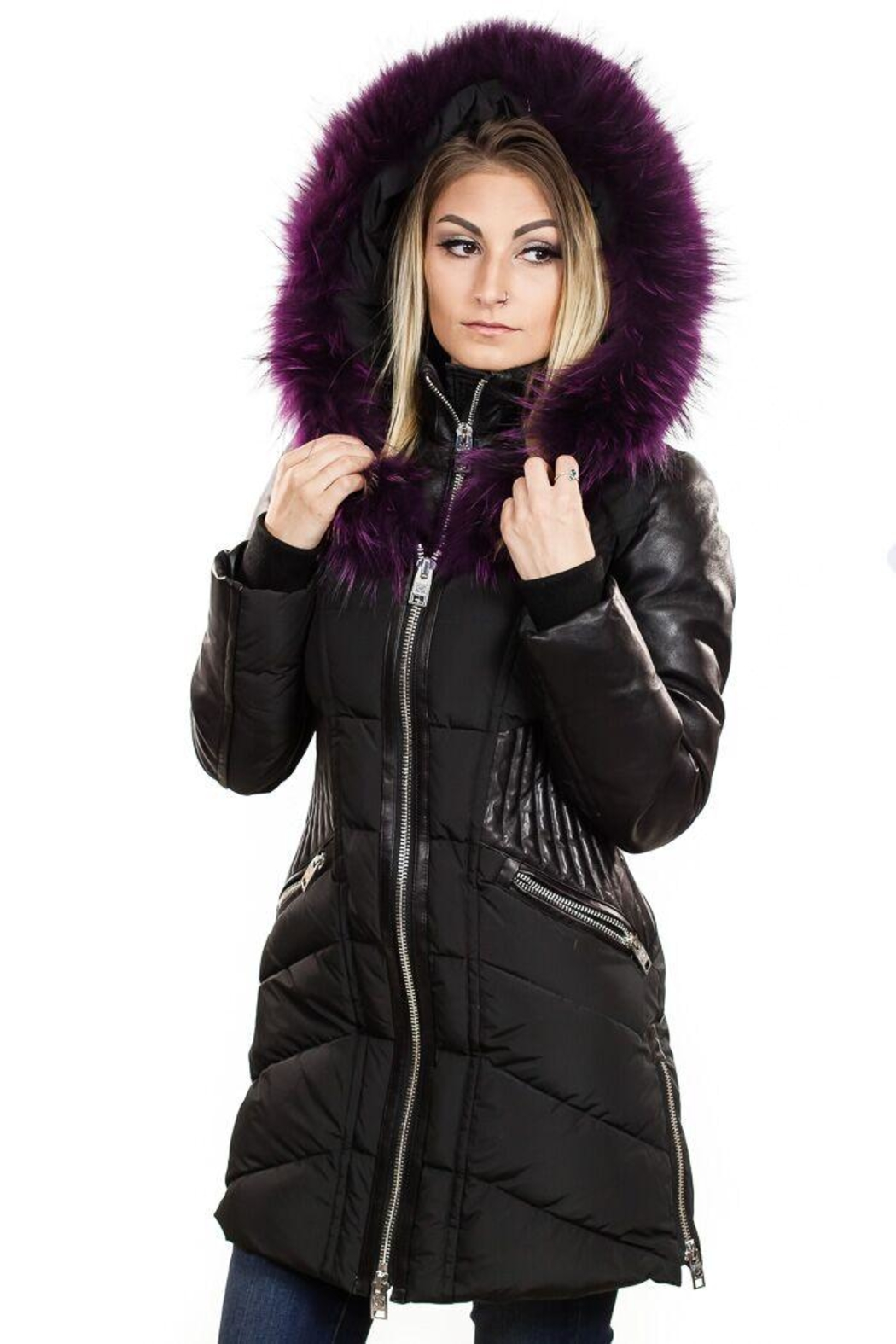 Nicole Benisti Courcheval Down Coat - Front Cropped Image