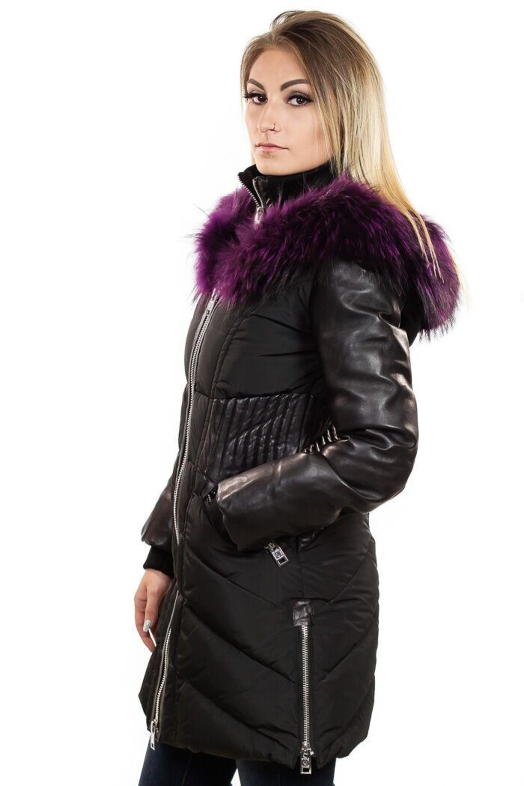 Nicole Benisti Courcheval Down Coat - Back Cropped Image