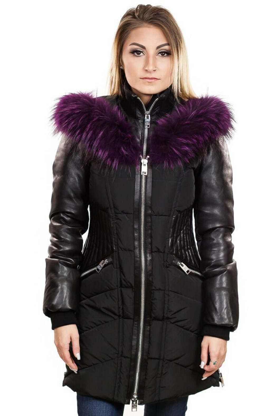 Nicole Benisti Courcheval Down Coat - Front Full Image