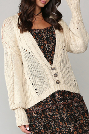 Kye Mi Courtney Cardigan - Front full body