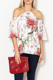 Dex Courtney Floral Top - Product Mini Image