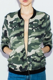 Courtshop Sweatshirt Bomber Jacket - Product Mini Image