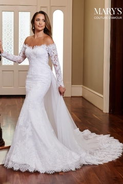 """Shoptiques Product: Couture D""""Amour Bridal Gown In Ivory"""