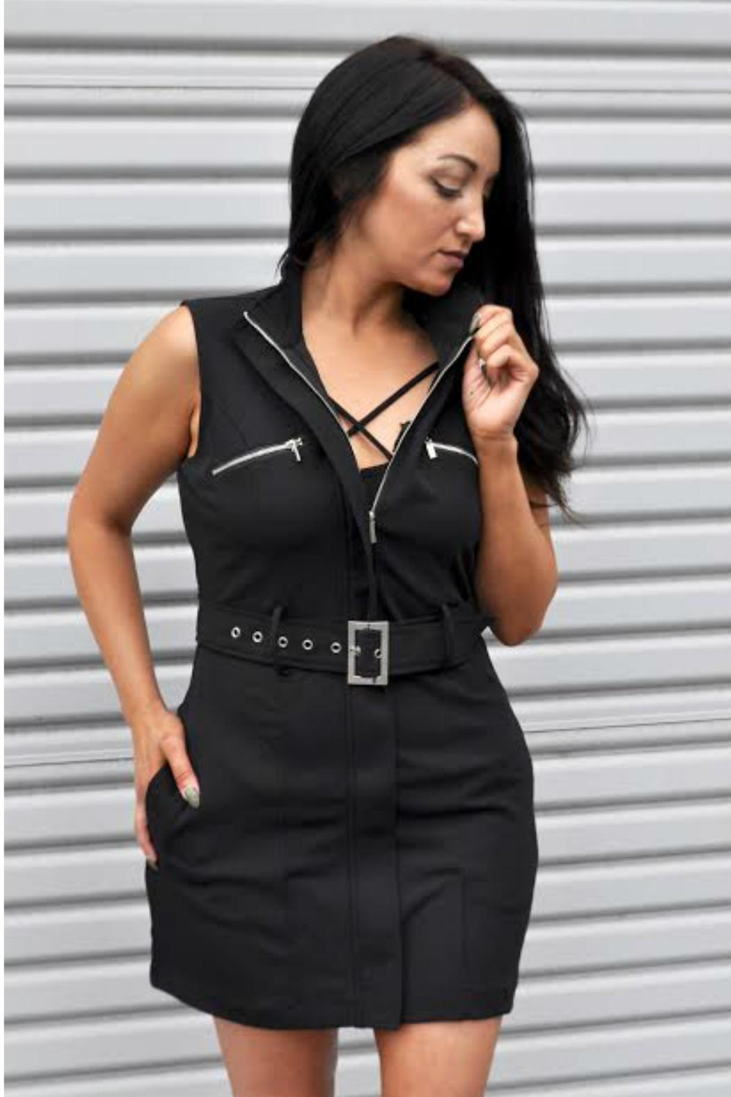 Minx Couture Vest - Front Cropped Image