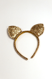 Couture Clips Glitter Cat Ears - Front cropped