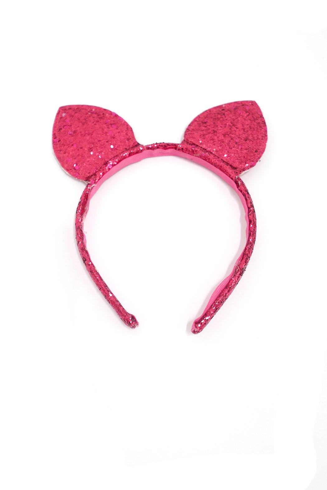Couture Clips Glitter Cat Ears - Front Cropped Image