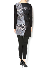 Cover Charge Black Leopard Tunic - Side cropped