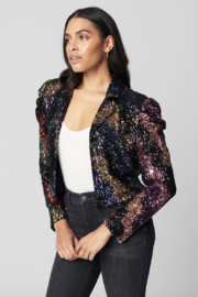 Blank NYC Cover Girl Jacket - Front full body