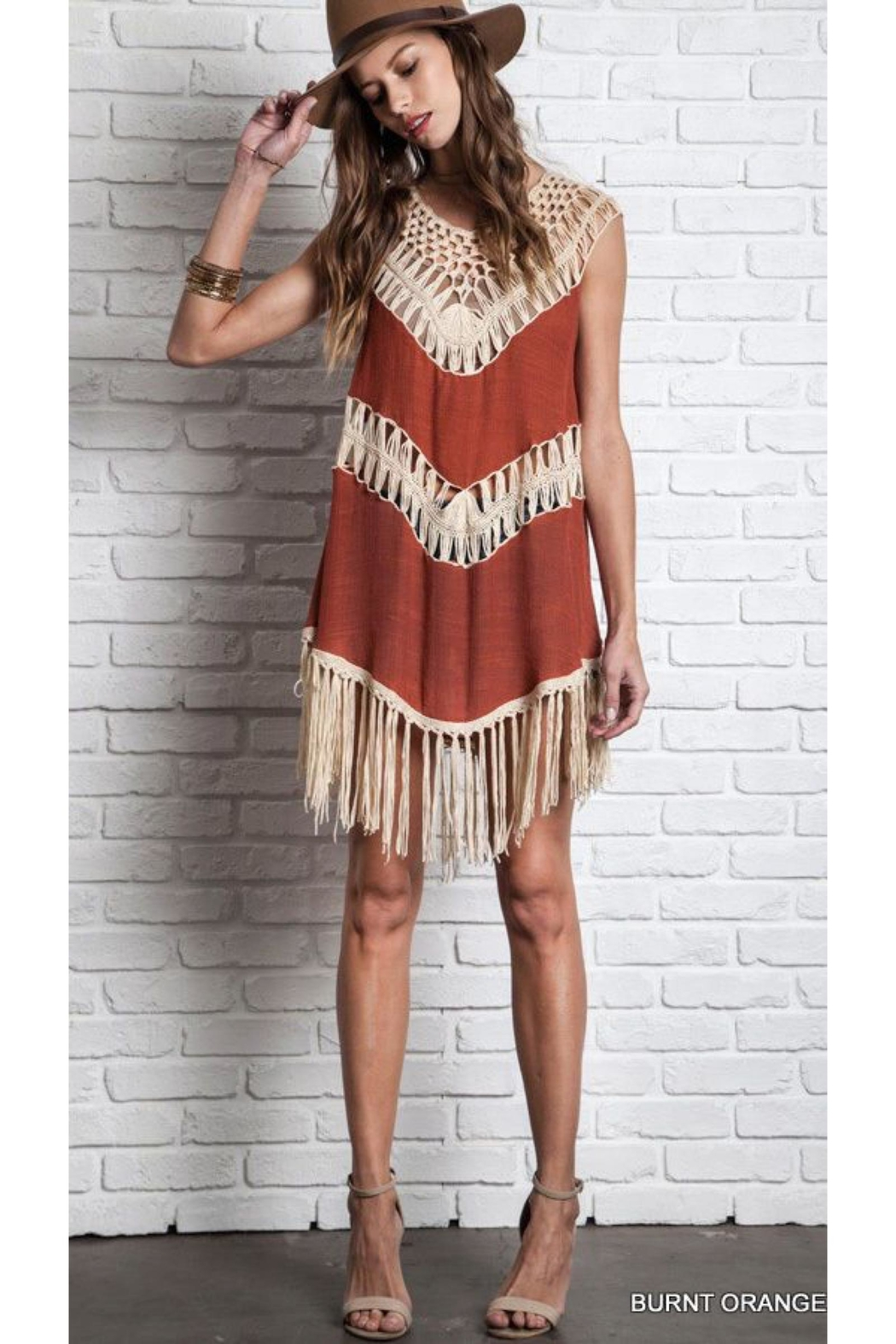 People Outfitter Cover-Up Tunic Dress - Main Image
