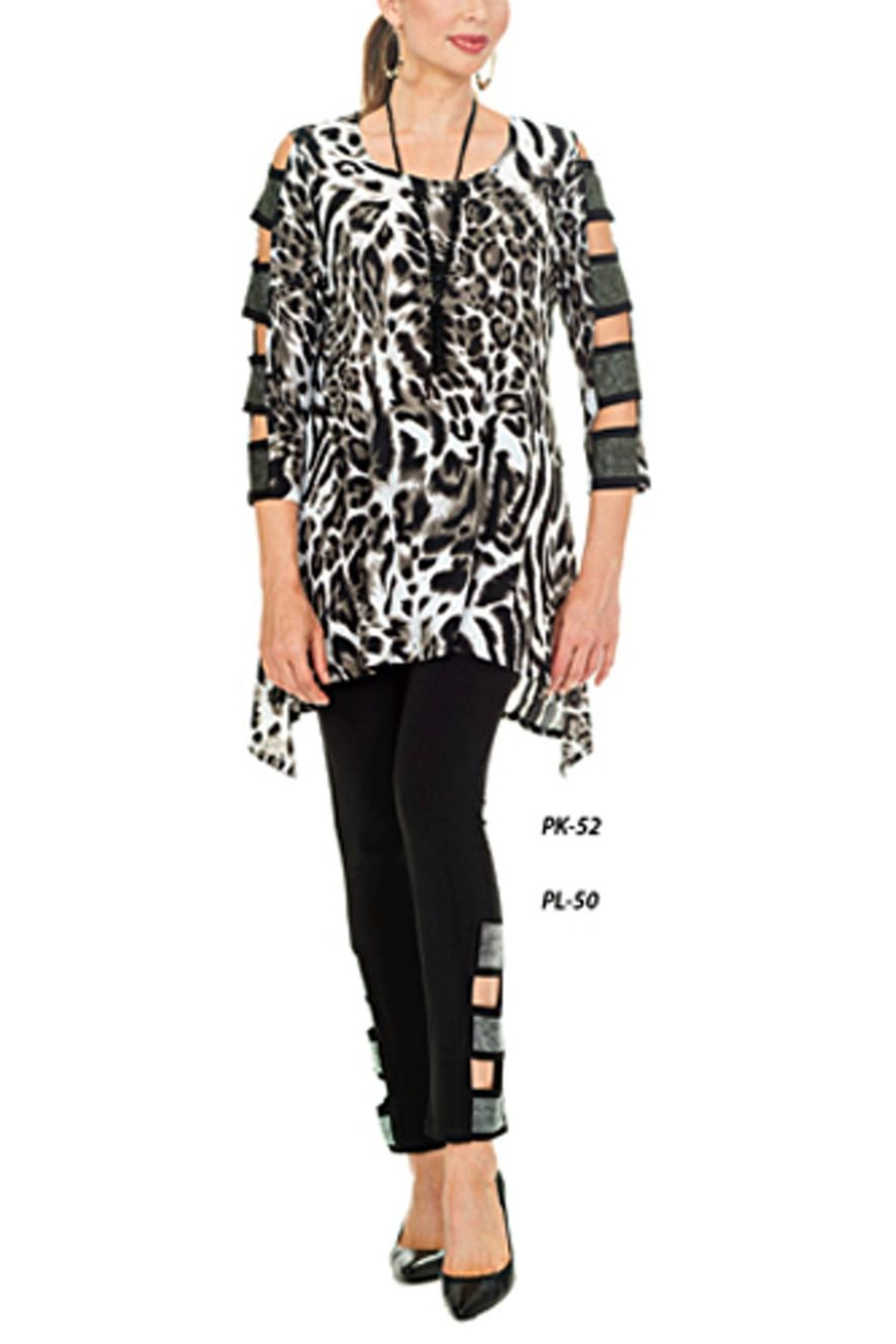Cover Charge Leopard Ladder Sleeve - Main Image