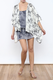 Coveted Clothing Floral Kimono - Front full body