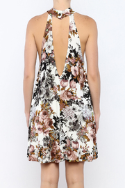 Coveted Clothing Floral A-line Dress - Back cropped