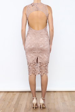 Coveted Clothing Lace Midi Dress - Alternate List Image