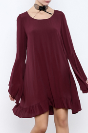 Coveted Clothing Long Flowy Dress - Front cropped
