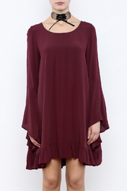 Coveted Clothing Long Flowy Dress - Side cropped