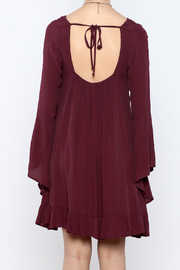 Coveted Clothing Long Flowy Dress - Back cropped
