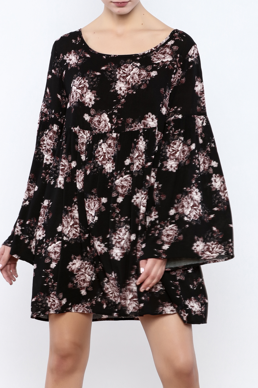 Coveted Clothing Long Sleeve Dress - Main Image