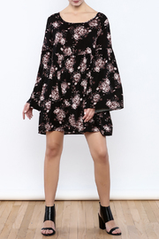 Coveted Clothing Long Sleeve Dress - Front full body