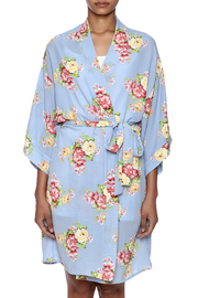 Coveted Clothing Peony Print Robe - Side cropped