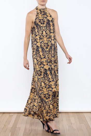 Coveted Clothing Printed Maxi - Main Image