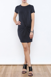 Shoptiques Product: Ribbed Knotted Dress - Front full body