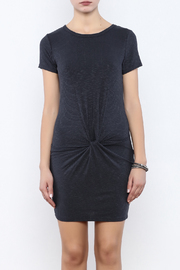 Coveted Clothing Ribbed Knotted Dress - Side cropped