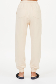 Upside Coveted Cream Joggers - Side cropped