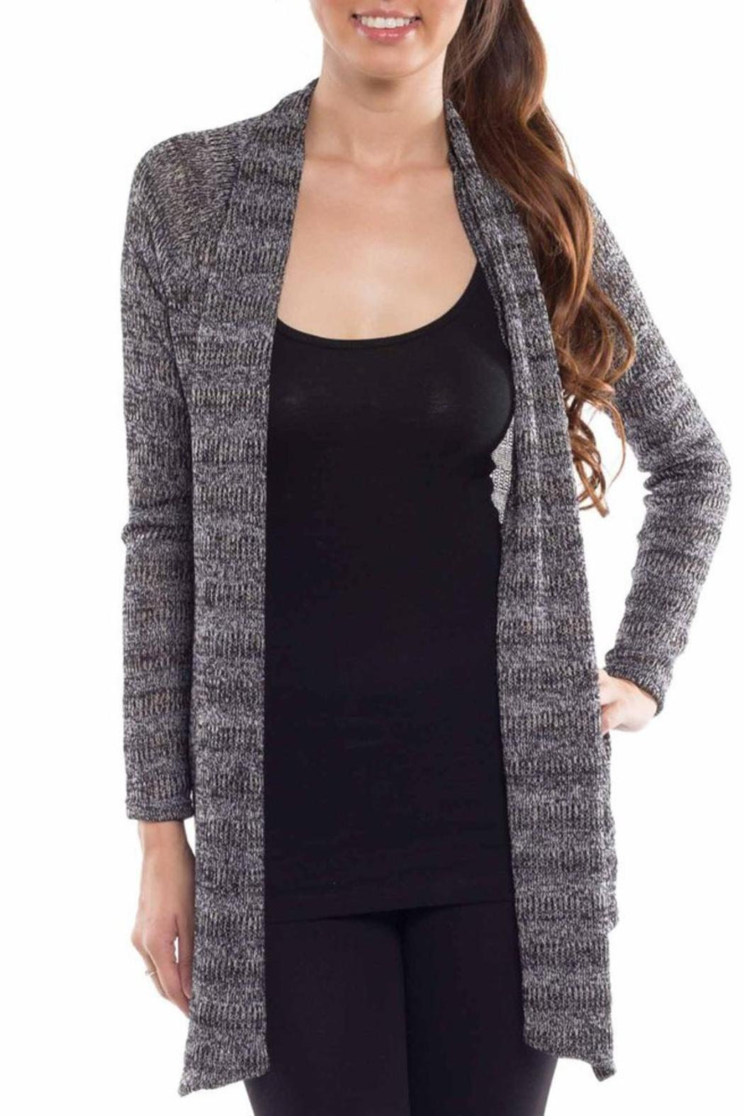 Coveted Clothing Open Knit Cardigan - Main Image