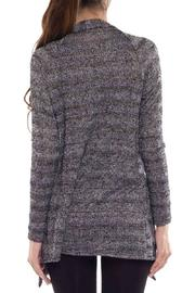 Coveted Clothing Open Knit Cardigan - Side cropped