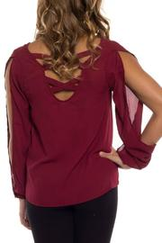Shoptiques Product: Open Sleeve Blouse  - Side cropped