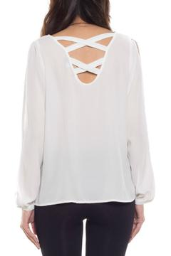 Coveted Clothing Open Sleeve Blouse - Alternate List Image